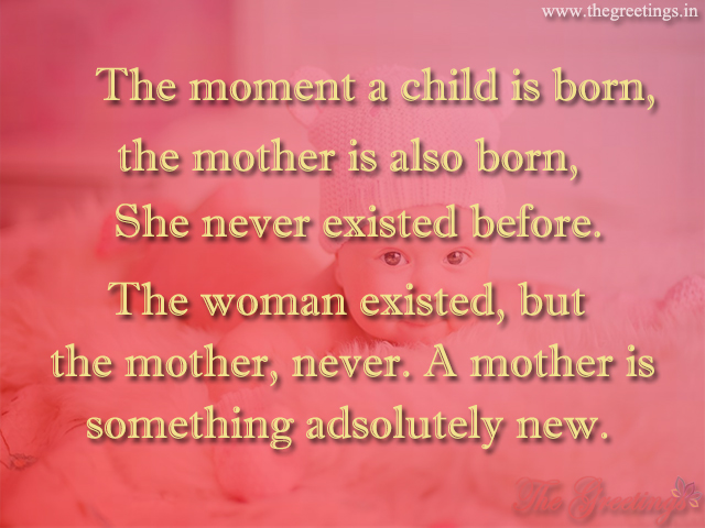 birth of new baby message
