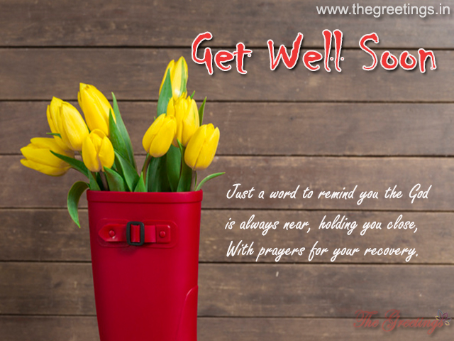 Get Well Soon Card and images
